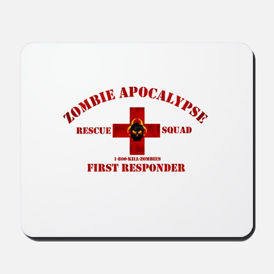 Zombie Rescue Squad Mousepad