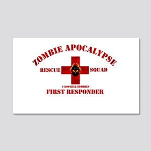Zombie Rescue Squad 20x12 Wall Decal