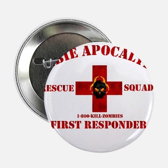 """Zombie Rescue Squad 2.25"""" Button"""