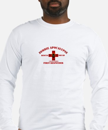 Zombie Rescue Squad Long Sleeve T-Shirt