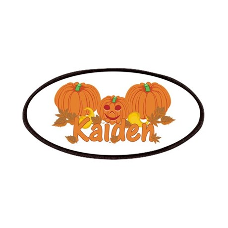 Halloween Pumpkin Kaiden Patches