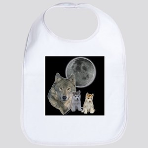 Wolf Mommy Bib
