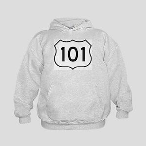 U.S. Route 101 Kids Hoodie
