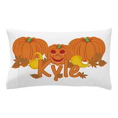 Halloween Pumpkin Kyle Pillow Case