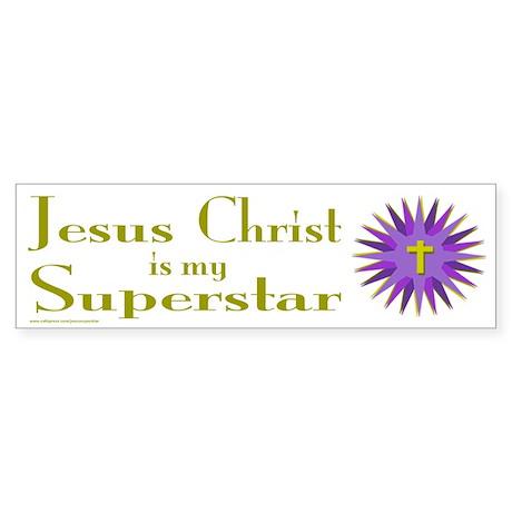 JESUS SUPERSTAR Bumper Sticker