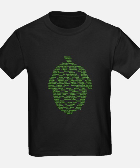 Hops of The World T