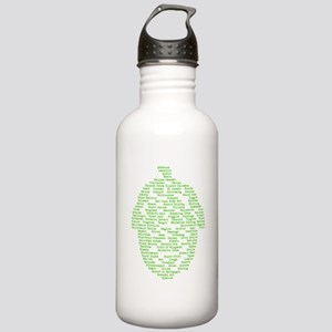 Hops of The World Stainless Water Bottle 1.0L