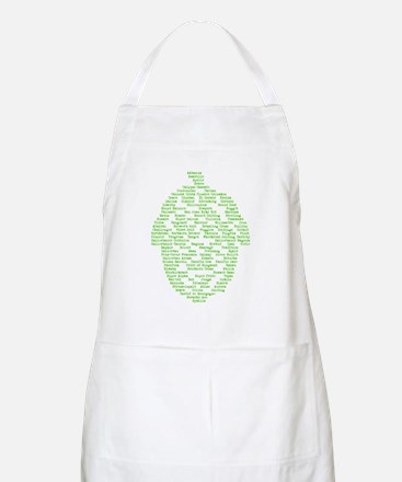 Hops of The World Apron