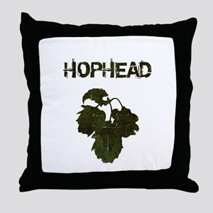 Hophead Throw Pillow
