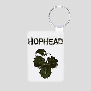 Hophead Aluminum Photo Keychain