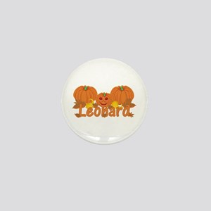 Halloween Pumpkin Leonard Mini Button