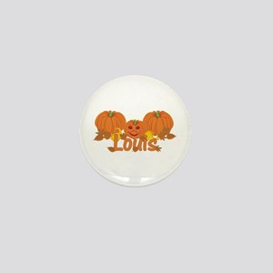 Halloween Pumpkin Louis Mini Button