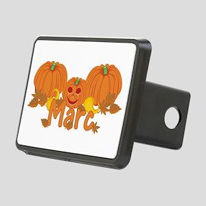 Halloween Pumpkin Marc Rectangular Hitch Cover