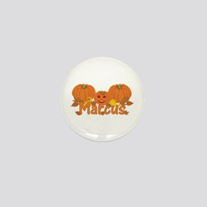 Halloween Pumpkin Marcus Mini Button