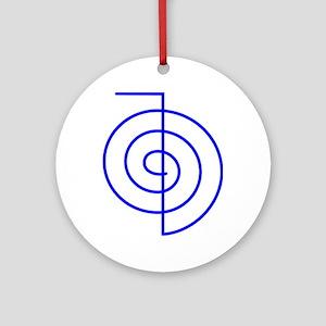 Cho Ku Rei (blue) Ornament (Round)