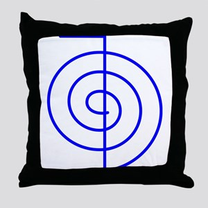 Cho Ku Rei (blue) Throw Pillow