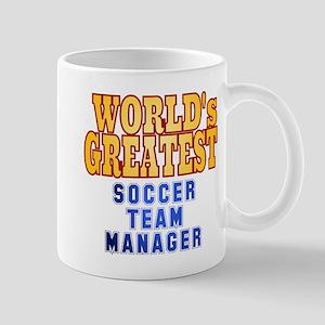 World's Greatest Soccer Team Manager Mug