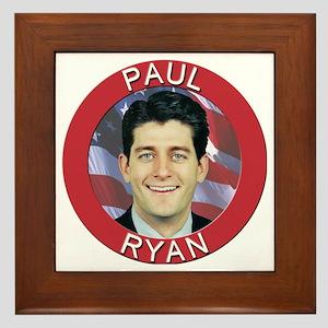 Paul Ryan Framed Tile