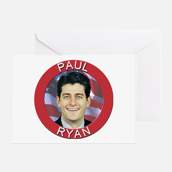 Paul Ryan Greeting Card