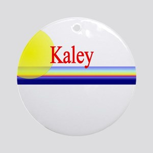 Kaley Ornament (Round)