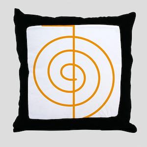 Cho Ku Rei (orange) Throw Pillow