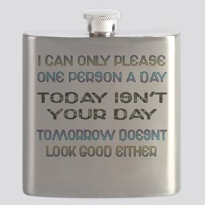 I Can Only Please... Flask