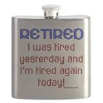 Retired & Tired Flask