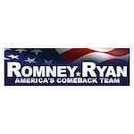 Romney Ryan Sticker (Bumper 10 pk)
