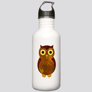 Little Brown Owl Stainless Water Bottle 1.0L