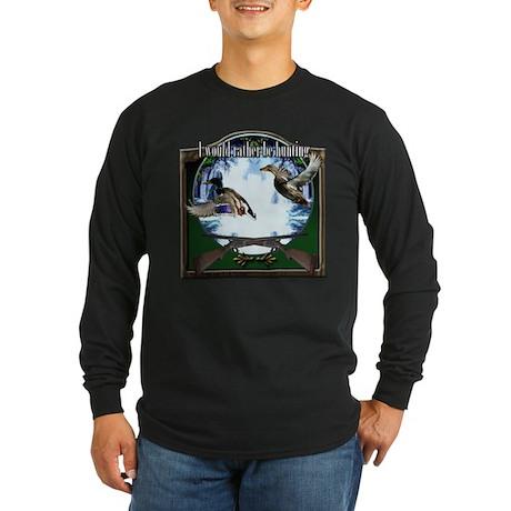 Duck hunter Long Sleeve Dark T-Shirt