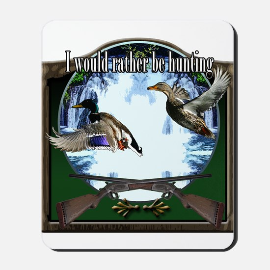 Duck hunter Mousepad