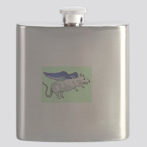flying rat Flask