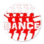Ballet Parade by DanceShirts.com Round Car Magnet