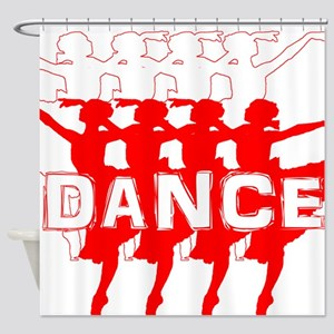Ballet Parade by DanceShirts.com Shower Curtain
