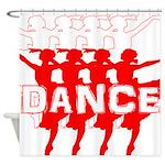 Ballet Parade by DanceShirts.com Shower Curtain