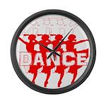 Ballet Parade by DanceShirts.com Large Wall Clock