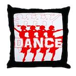 Ballet Parade by DanceShirts.com Throw Pillow