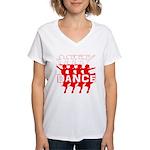 Ballet Parade by DanceShirts.com Women's V-Neck T-