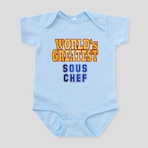 World's Greatest Sous Chef Infant Bodysuit