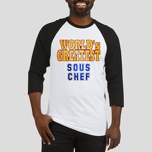 World's Greatest Sous Chef Baseball Jersey