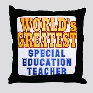 World's Greatest Special Education Teacher Throw P