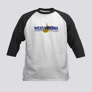 WV: Separate From VA Since 1863 Kids Baseball Jers