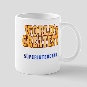 World's Greatest Superintendent Mug