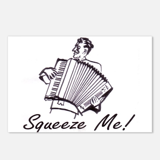 """""""Squeeze Me"""" Accordion Postcards (Package of 8)"""