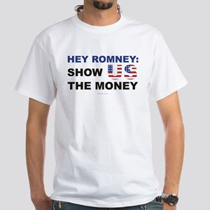 Romney t-shirt - Show US the money,