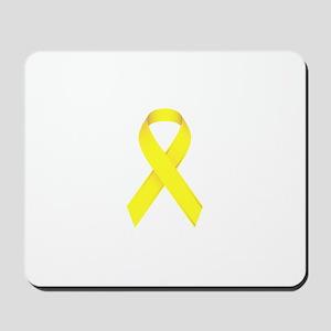 Yellow Ribbon Mousepad