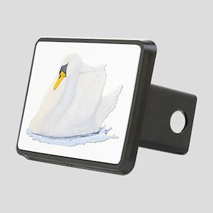 Graceful Swan Rectangular Hitch Cover