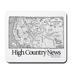 HCN Map of the West Mousepad