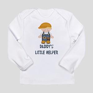 Daddy's Little Helper Long Sleeve Infant T-Shirt