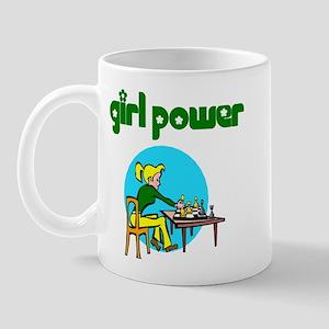 Girl Power Chess Mug